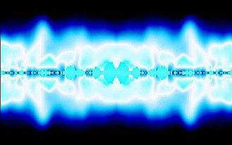 Cthugha (software) - Blue fire