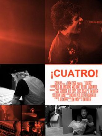 ¡Cuatro! - Official promotional poster