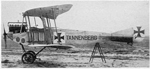 "DFW B.I - DFW B.I Tannenberg, one of the few ""named"" DFW aircraft"