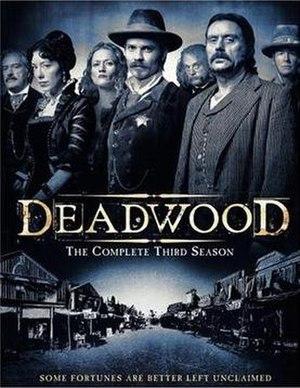 Deadwood (TV series) - Deadwood Season 3 DVD cover