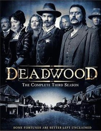 Deadwood (TV series) - Deadwood Season 3 DVD cover