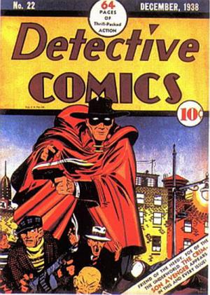 Crimson Avenger (Lee Travis) - Image: Detective Comics 22