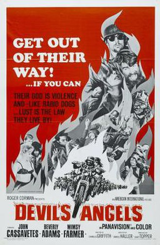 Devil's Angels - Theatrical release poster