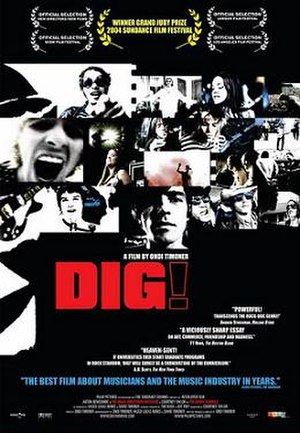 Dig! - Theatrical release poster