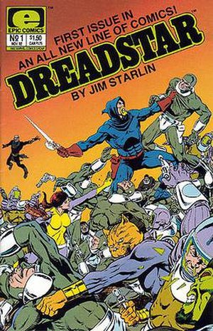 Epic Comics - Image: Dreadstar issue 1