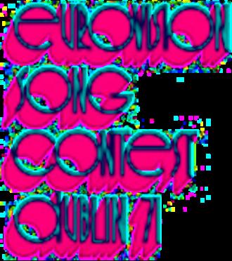 Eurovision Song Contest 1971 - Image: ESC 1971 logo