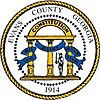 Official seal of Evans County