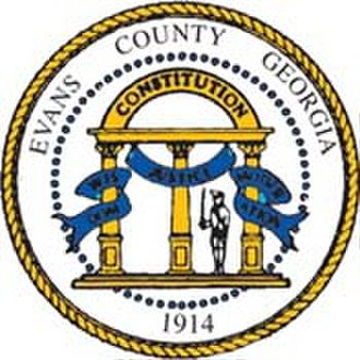 Evans County, Georgia - Image: Evans County Seal