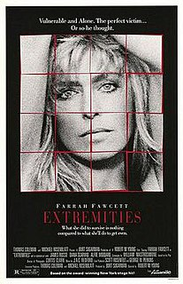 <i>Extremities</i> (film) 1986 film by Robert M. Young