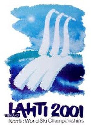 FIS Nordic World Ski Championships 2001 - Image: FIS Nordic WSC 2001 poster