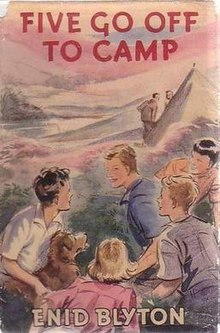 famous five five go off to camp book review