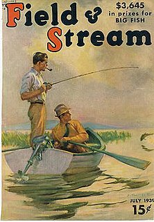 <i>Field & Stream</i> American magazine