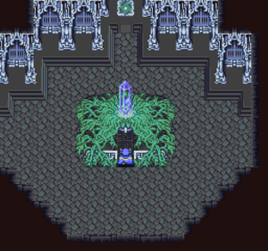 Final Fantasy - Final Fantasy V is typical of the earlier games in the series, in that the heroes must attempt to retrieve crystals to save the world from an ancient evil.