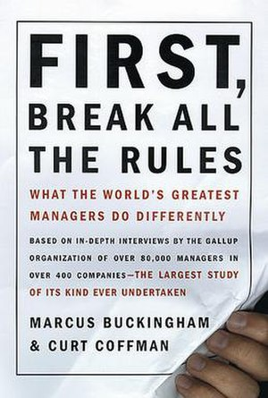 First, Break All the Rules - Book Cover