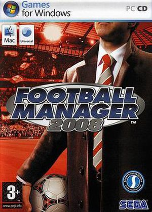 Football Manager 2008 - Football Manager 2008 Boxart