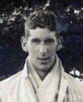 Francis Browne (cricketer) - Image: Francis Browne 1920s