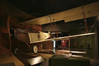 Frederick McCall - Replica of Freddie McCall's aircraft at the Glenbow Museum in Calgary.