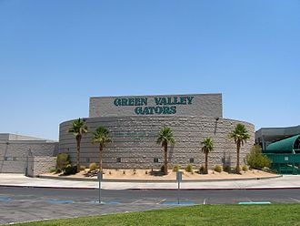 Green Valley High School - Image: GVH Spic