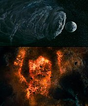 Galactus as he appears in Fantastic Four: Rise of the Silver Surfer
