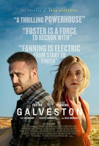 Galveston (film) - Theatrical release poster