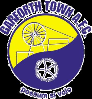 Garforth Town A.F.C. Association football club in England
