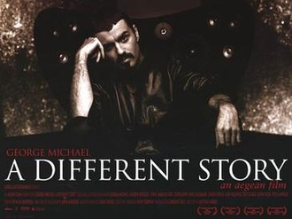 George Michael: A Different Story - Theatrical release poster (UK)