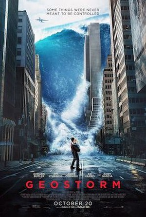 Geostorm - Theatrical release poster