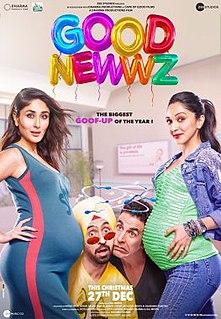 <i>Good Newwz</i> 2019 Hindi-language film