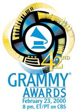 42nd Annual Grammy Awards - Image: Grammy logo 42