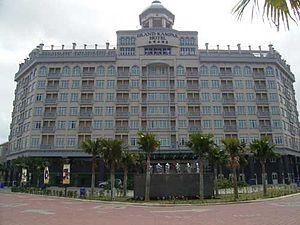 Kampar, Perak - Grand Kampar Hotel front view
