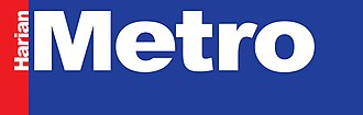 Harian Metro - The Harian Metro logo from 2006 to 2013