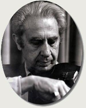 Harry Bluestone - Harry Bluestone playing his violin