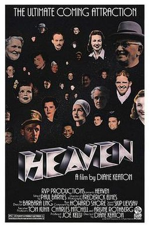 Heaven (1987 film) - Theatrical release poster