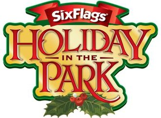 Holiday in the Park - Holiday in the Park logo used at several Six Flags Parks