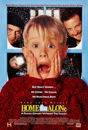 Home Alone - Theatrical release poster