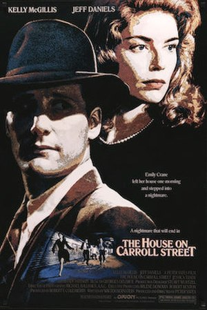The House on Carroll Street - Theatrical release poster