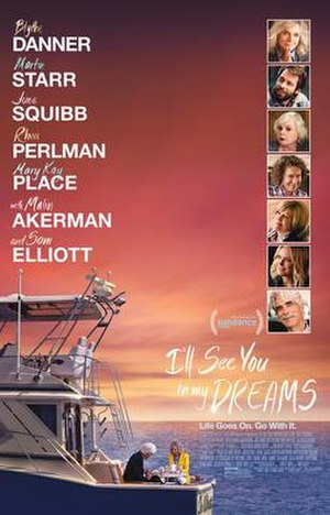 I'll See You in My Dreams (2015 film) - Theatrical release poster