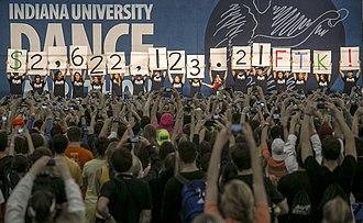 Indiana University Dance Marathon - IUDM 2013 Total
