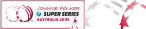 2005 ICC Super Series - The official logo of the Johnnie Walker Super Series