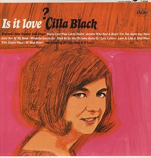 Is It Love? (Cilla Black album) - Image: Is It Love? (Cilla Black album)