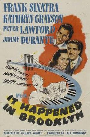 It Happened in Brooklyn - Image: It Happened in Brooklyn Film Poster