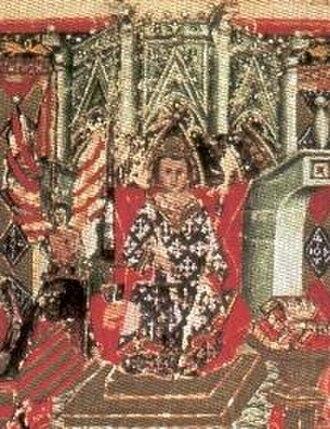 James III of Majorca - James III depicted in the Leges palatinae