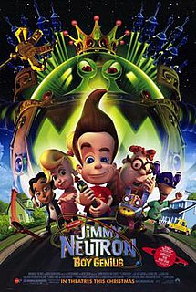 <i>Jimmy Neutron: Boy Genius</i> 2001 computer-animated film by John A. Davis
