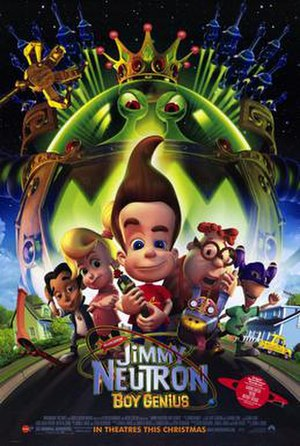 Jimmy Neutron: Boy Genius - Theatrical release poster