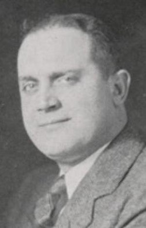John Magnabosco - Magnabosco picture in Orient 1936, Ball State yearbook