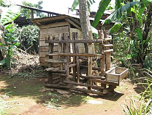 Chaga people -  Goat barn / kiriwa kya mburu