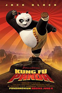 <i>Kung Fu Panda</i> (film) 2008 film by John Stevenson and Mark Osborne