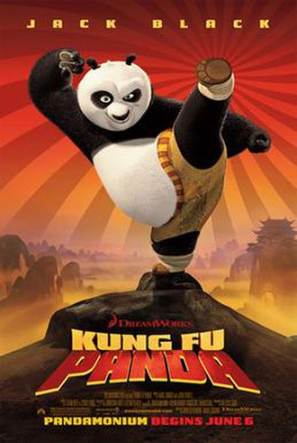 Kung Fu Panda - Theatrical release poster