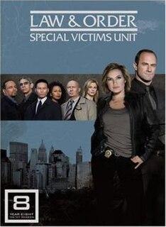 <i>Law & Order: Special Victims Unit</i> (season 8) Season of television series Law & Order: Special Victims Unit