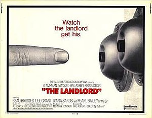 The Landlord - promotional poster